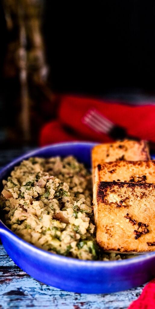 Kalafior i tofu bez soli