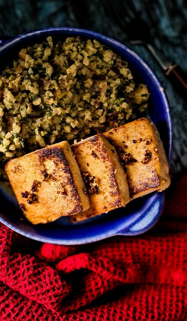 Tofu i kalafior