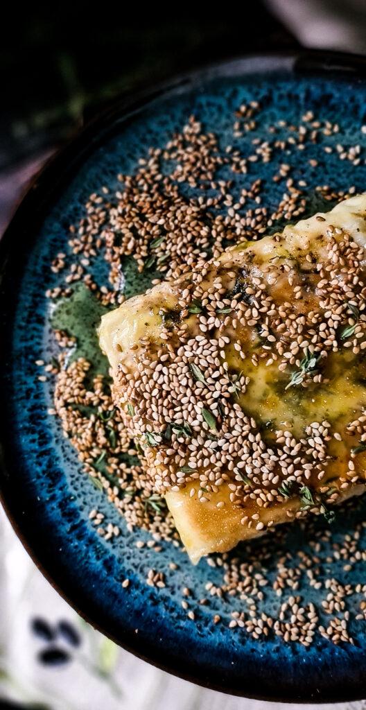 Feta filo miod sezam