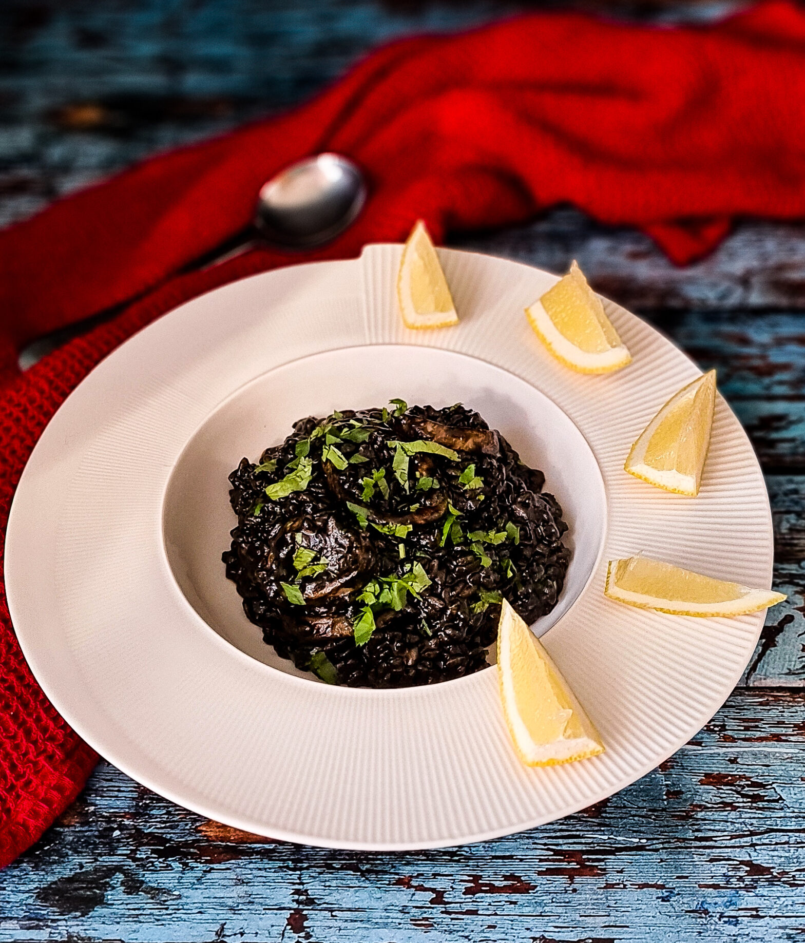 Crni Rižot czyli czarne risotto