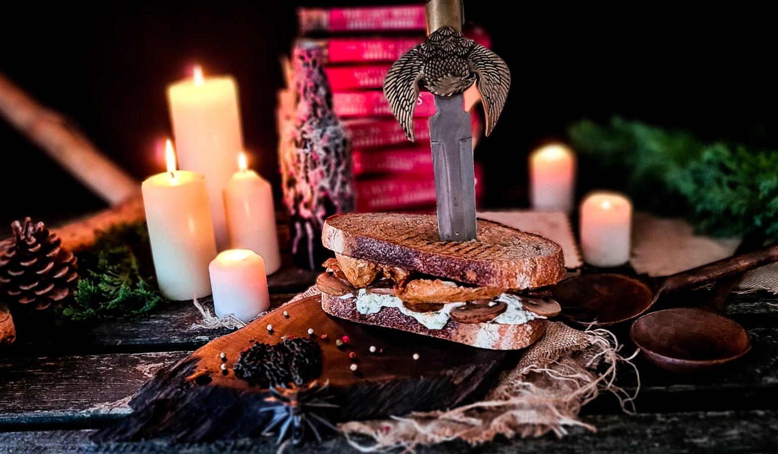 Kuchnia Wiedzmina kanapka