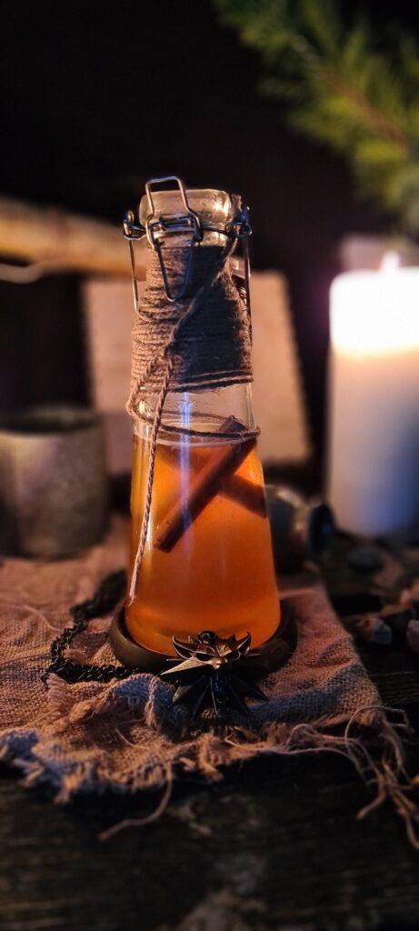 Eliksir z miodu i whiske