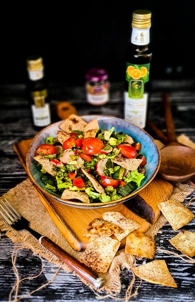 Fattoush salatka