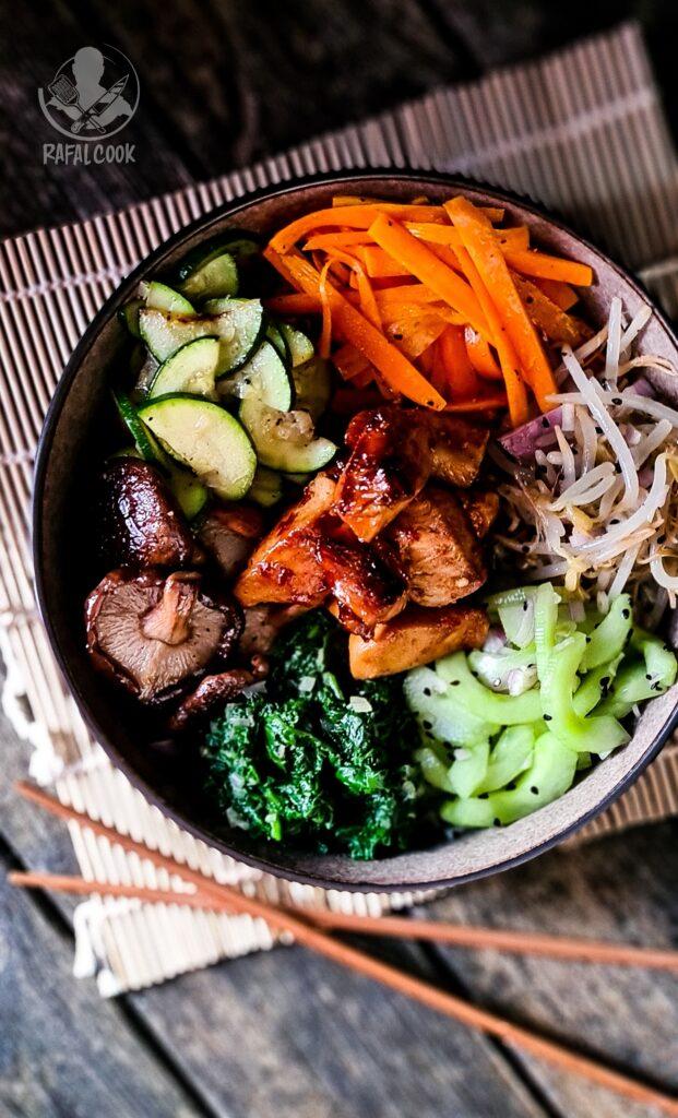 Koreanska salatka