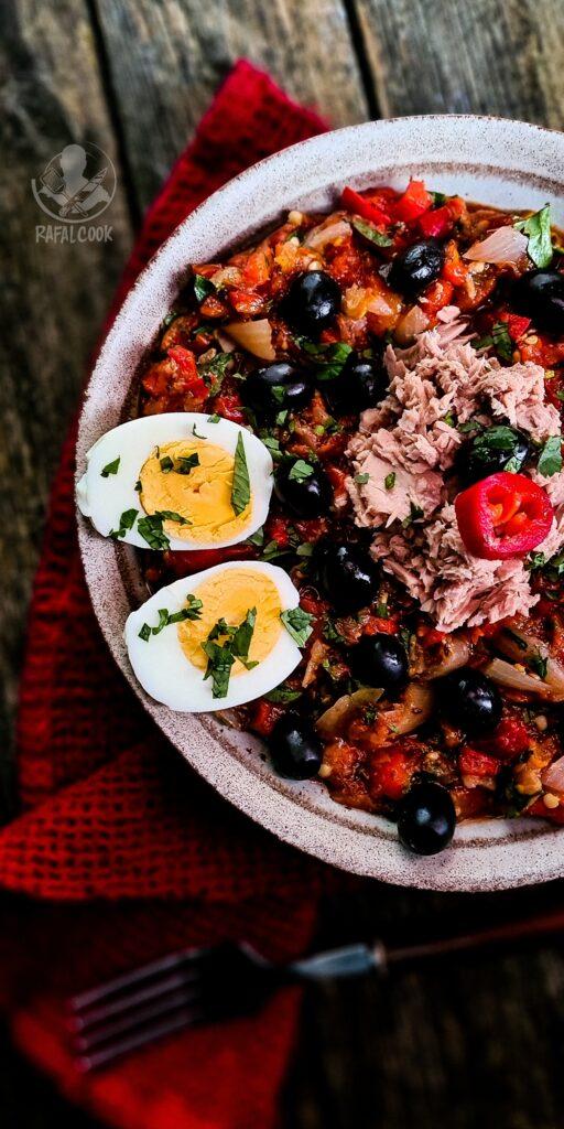 Tunezyjska salatka