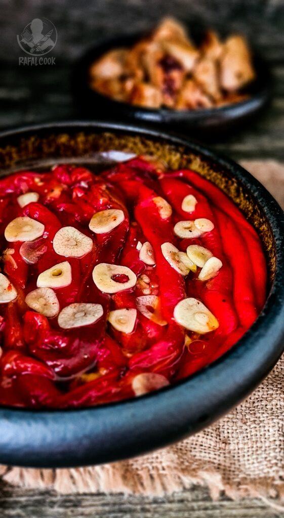 Salatka Ardei copți