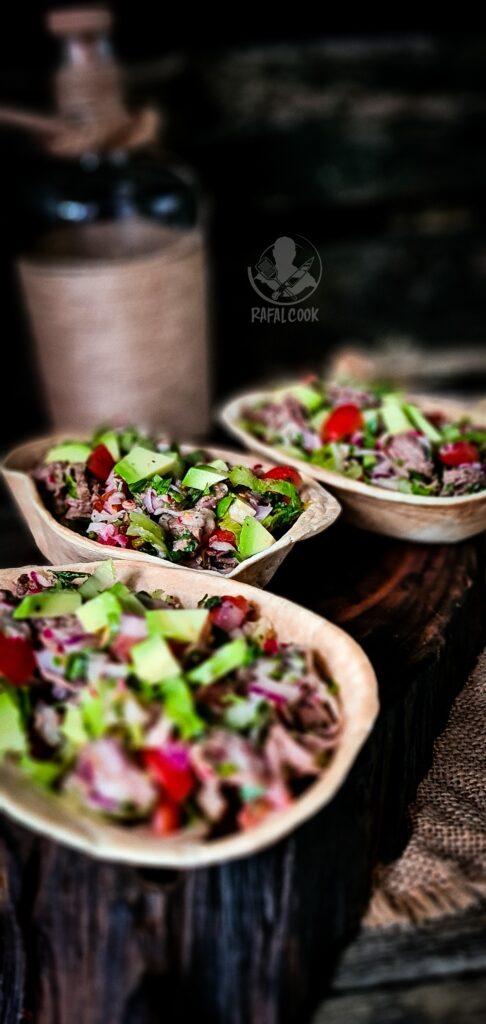Salatka Salpicón de Res