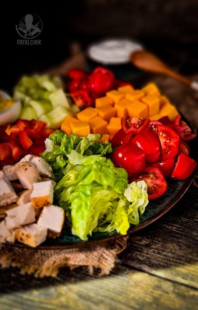 Salatka Chef Salad