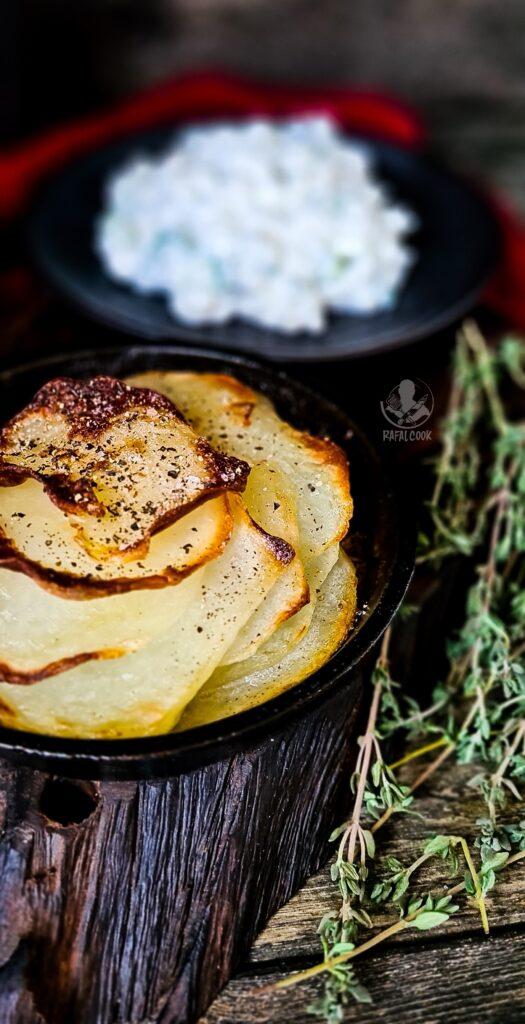 Serek wiejski i kartofle