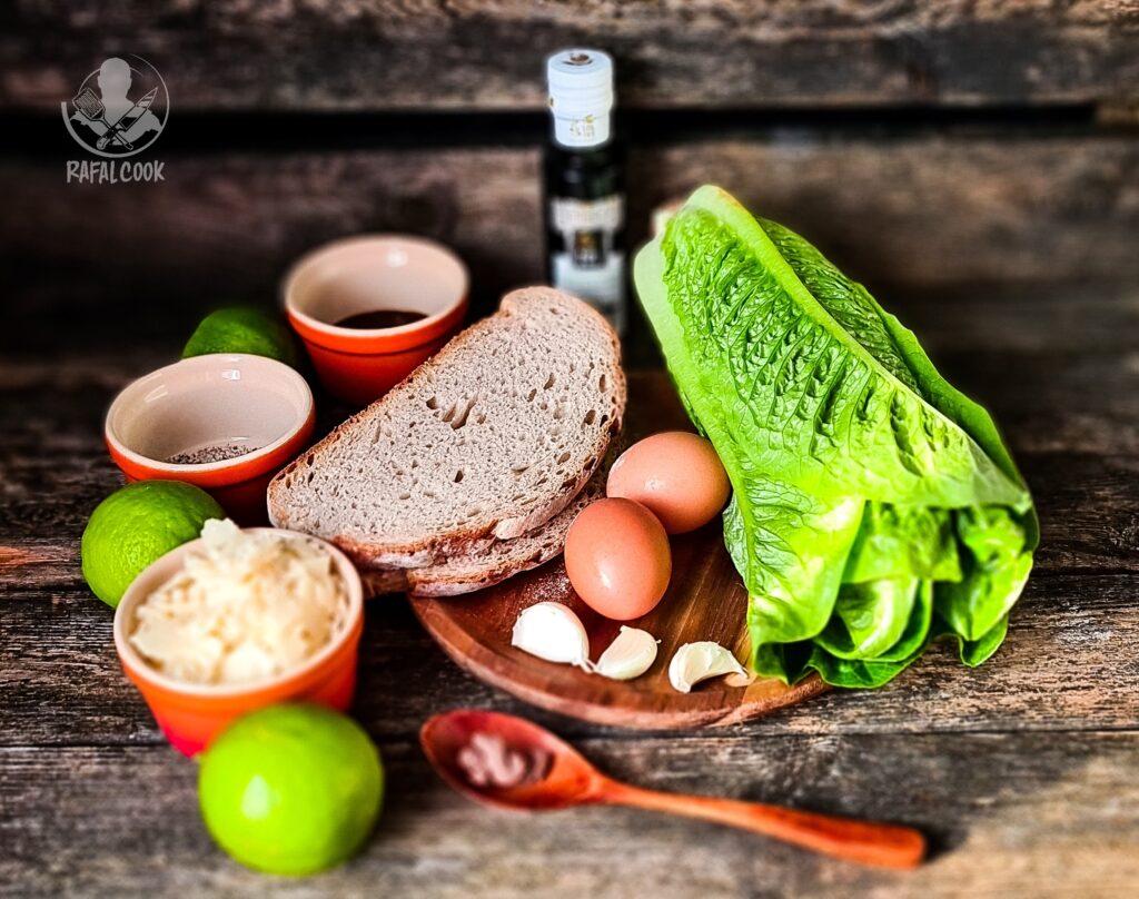 Skladniki na salatke